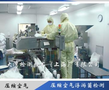 压缩空气浮游菌检测