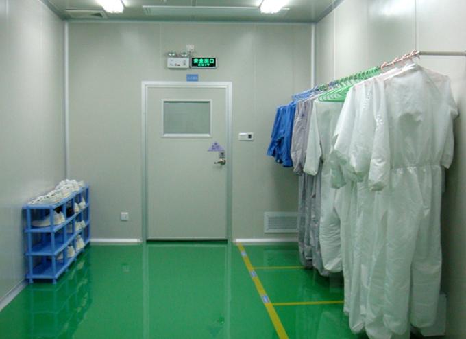 洁净室缓冲区